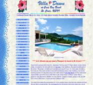 Villa Dawn, St. Croix Website Design